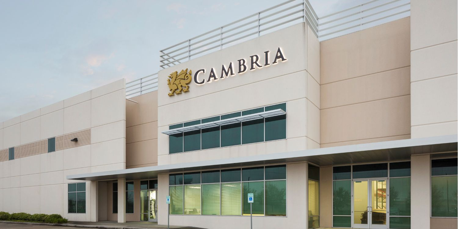 Cambria-DC-Houston-texas-showroom