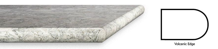 Cambria rounded Volcanic edge profile.