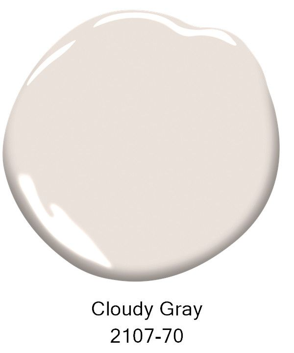 Paint Color- Cloudy Gray 2107-70