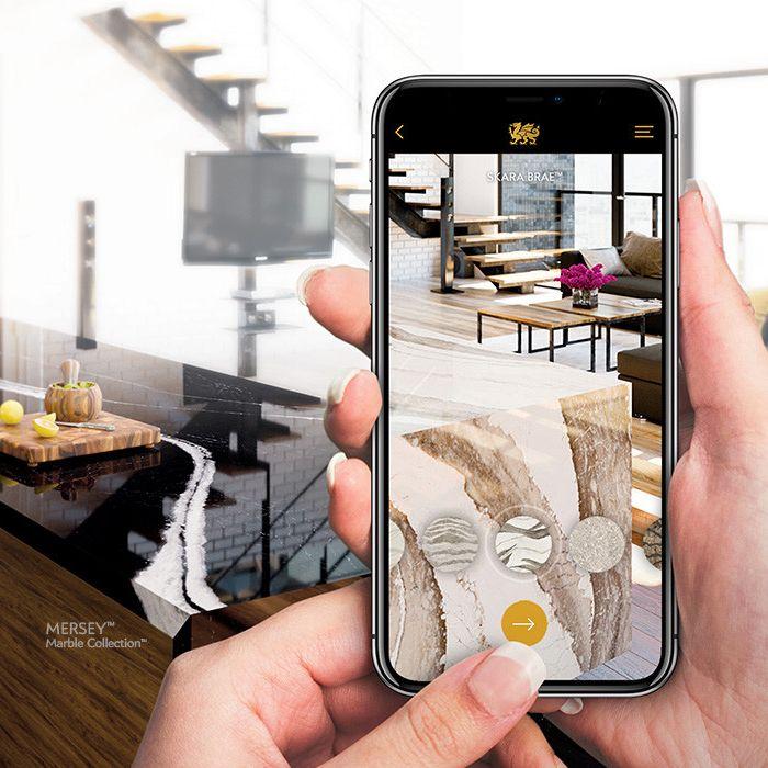 Cambria-quartz-countertop-ar-visualization-tool-app
