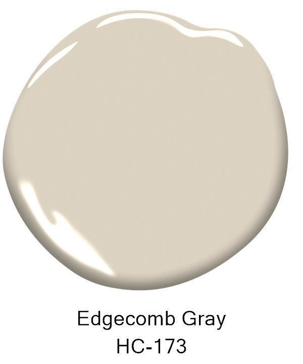 Paint Color - Edgecomb Gray HC-173