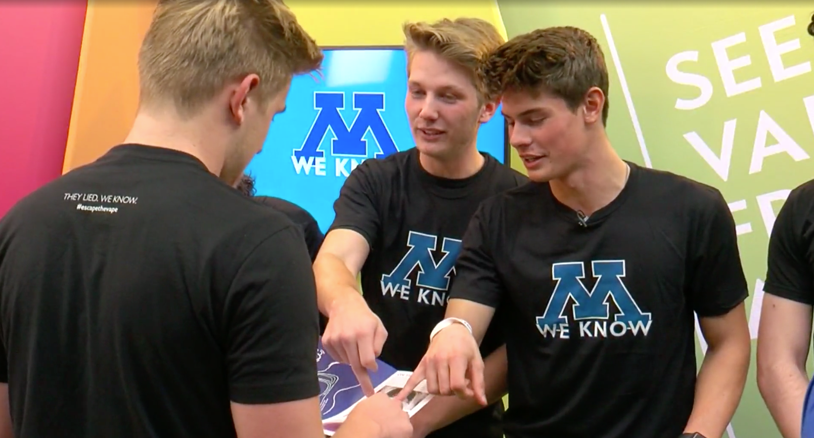 'I Don't Want Anyone To Die From This': Minnetonka Students Encouraging Each Other To #EscapeTheVape
