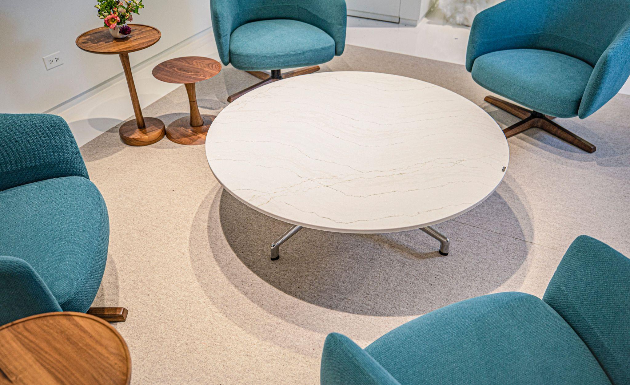 Cambria Ella office coffee table.
