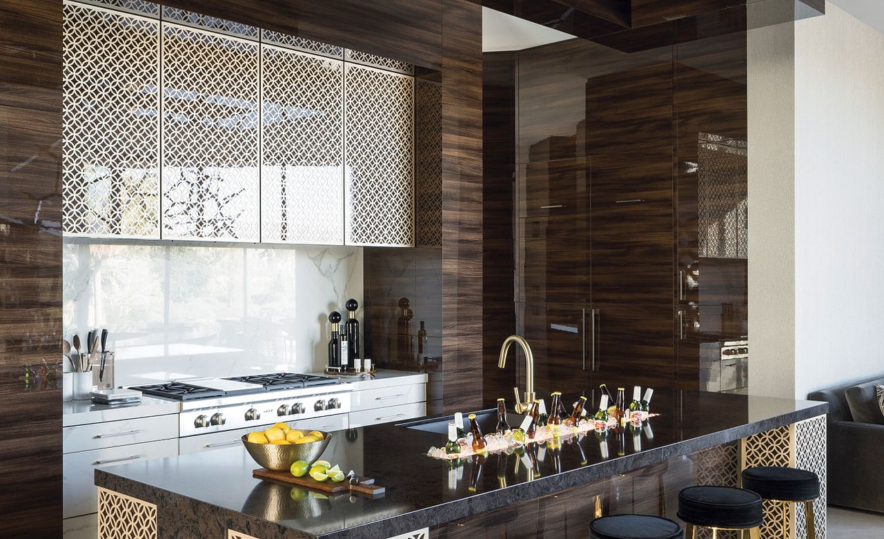 A custom kitchen made to entertain. Featuring Wellington