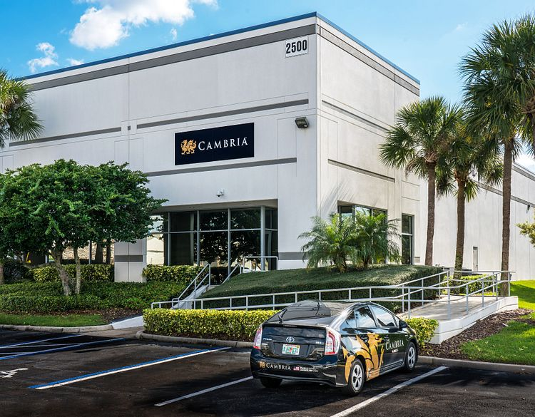 Cambria-DC-Orlando-Florida-showroom