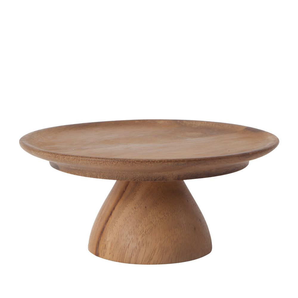 Small wooden cake stand by Oh Happy Day