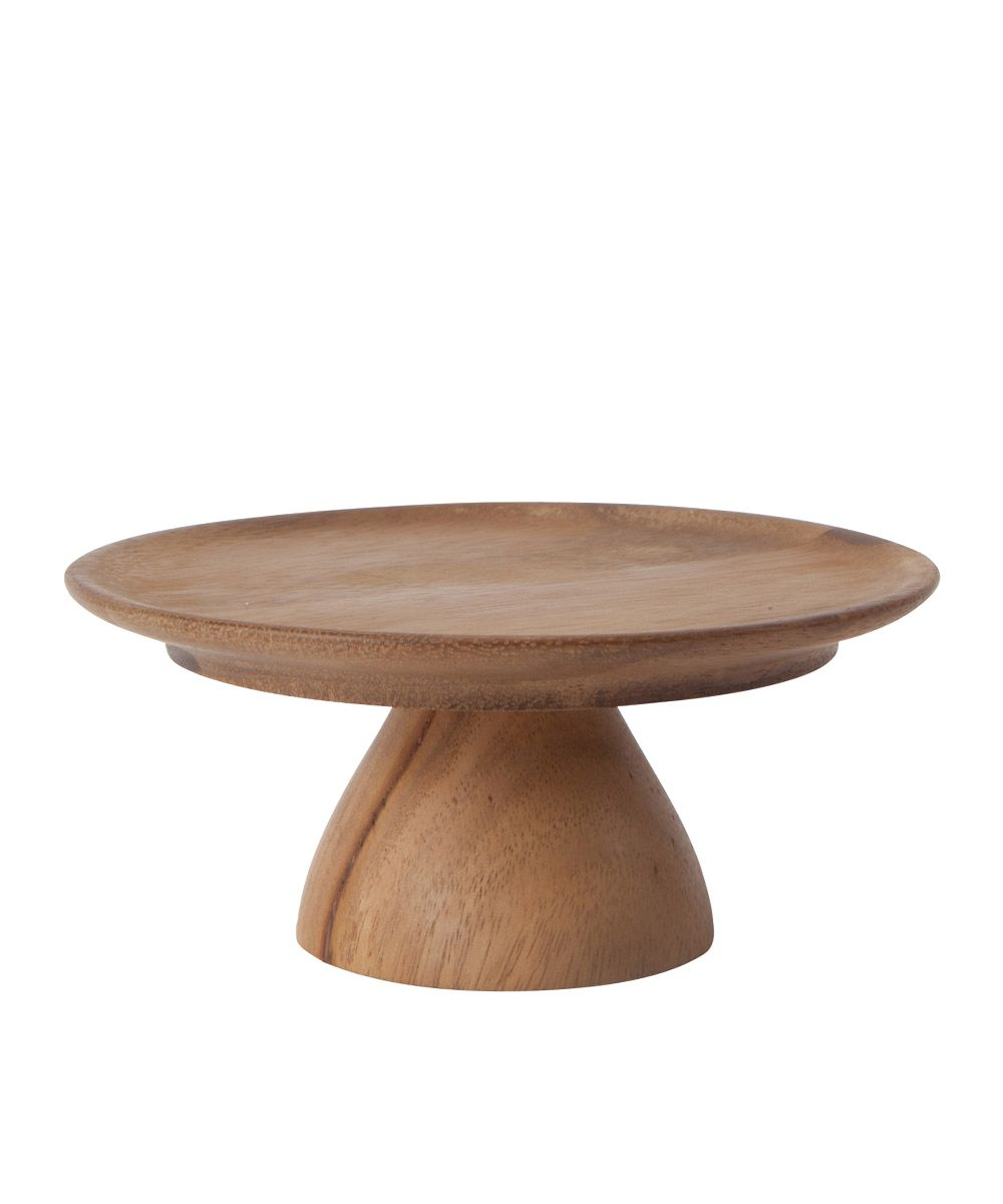 OhHappyDay Small Wooden Cake Stand.tif