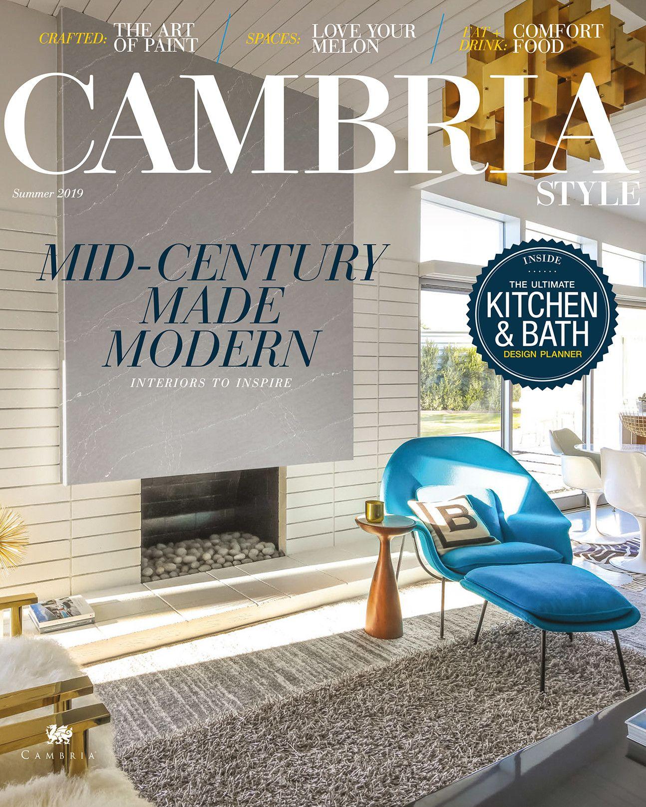 Cambria Style April 2019 Cover