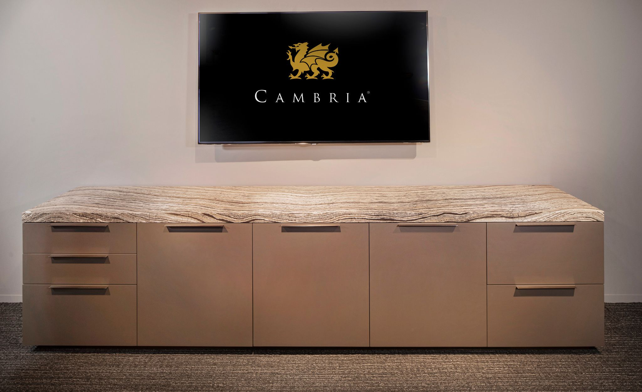 Pair Cambria Clairidge with wood cabinets for a perfectly neutral pair.