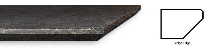 Cambria Ledge edge profile.