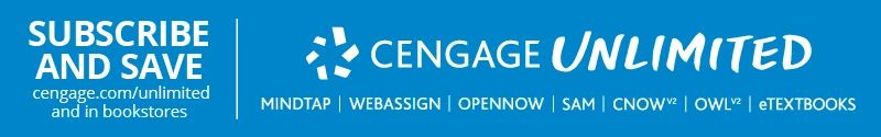 Cengage Unlimited Banner