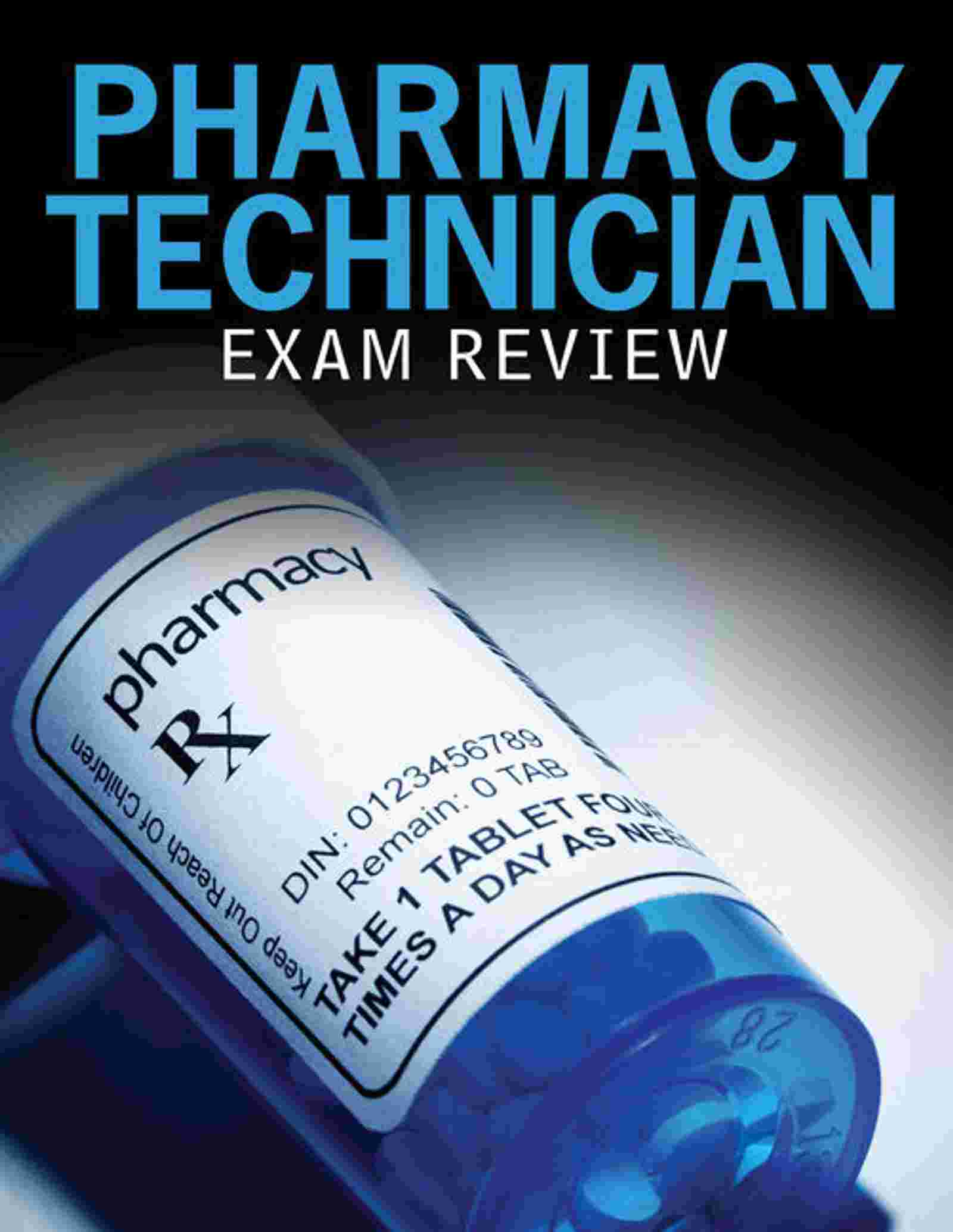 Pharmacy Technician Exam Review, 2 terms (12 months) Instant Access, 1st Edition