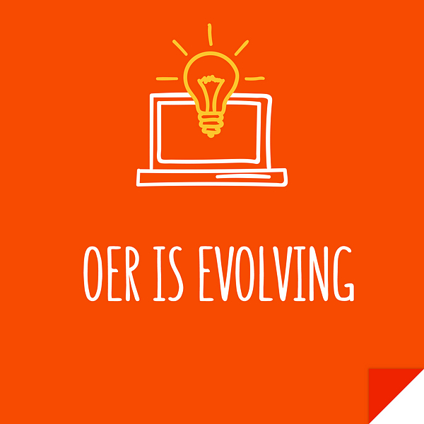 OER is evolving