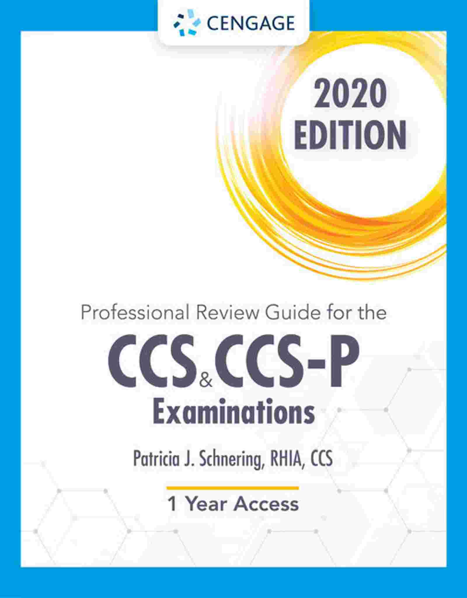 Professional Review Guide Online for the CCS/CCS-P Examinations, 2020, 2 terms Instant Access