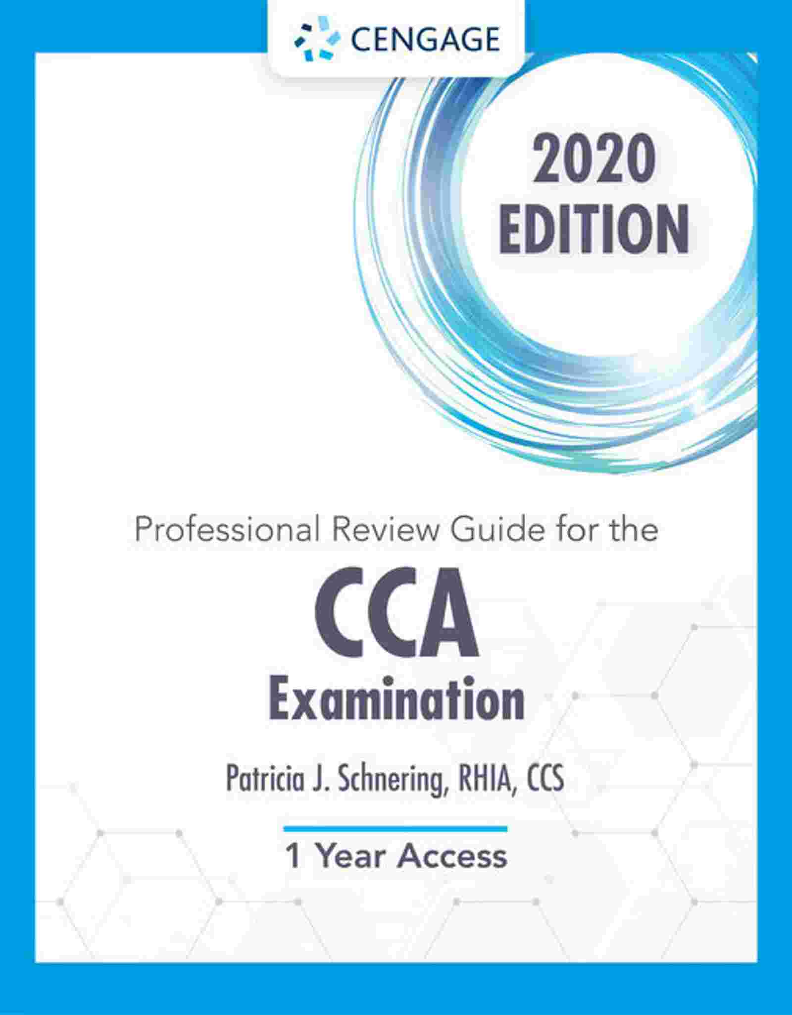 Professional Review Guide Online for the CCA Examination, 2020, 2 terms Instant Access