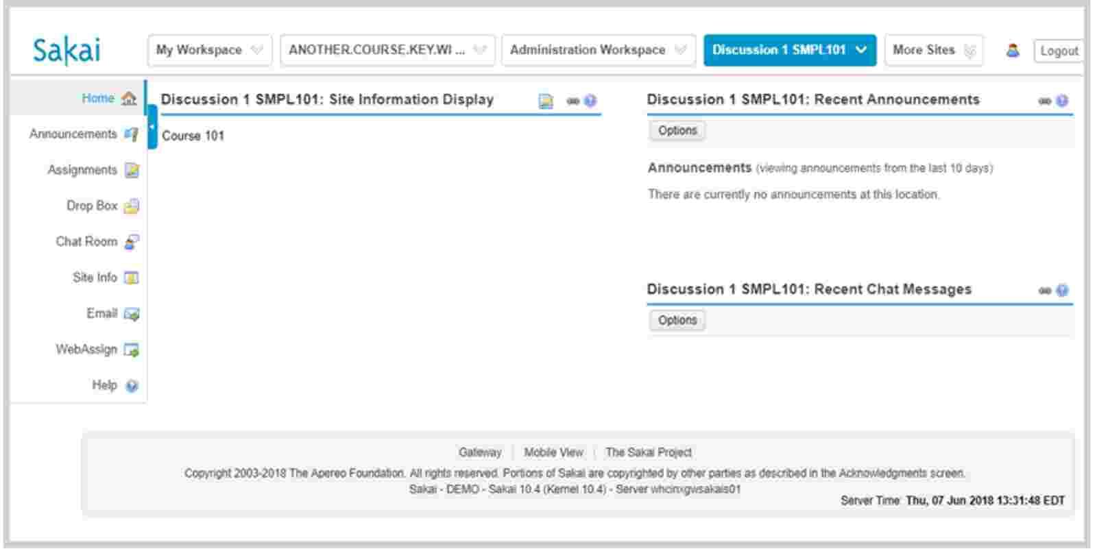 SSO access screen