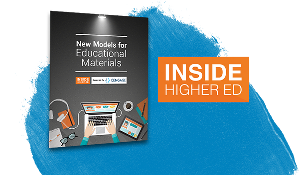 New Models for Educational Materials Booklet