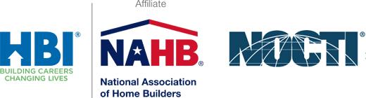 HBI / NAHB, NOCTI logos