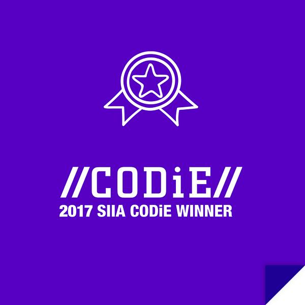 CODiE 2017 SAII CODiE Winner