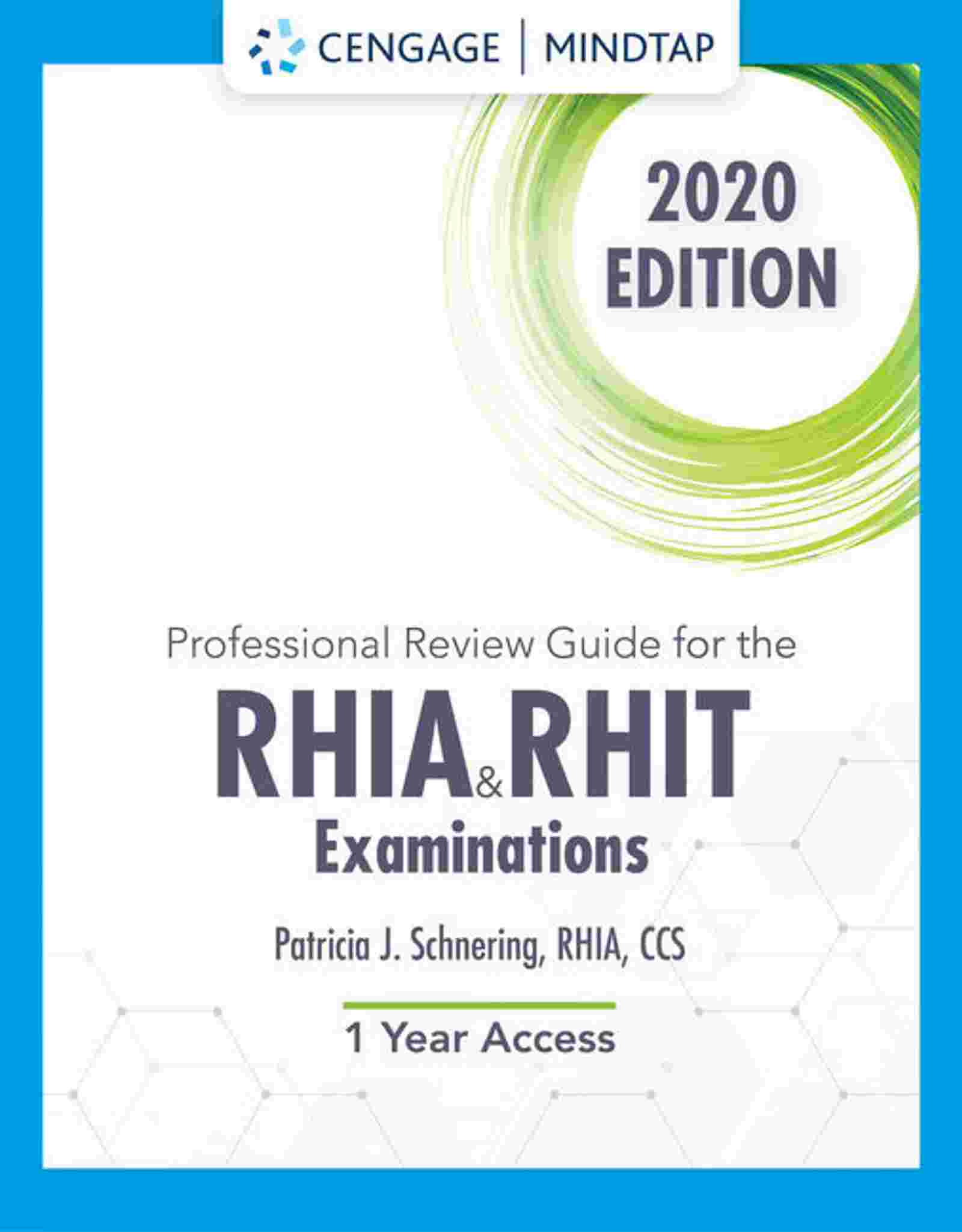 Professional Review Guide Online For The RHIA And RHIT Examinations, 2020, 1st Edition