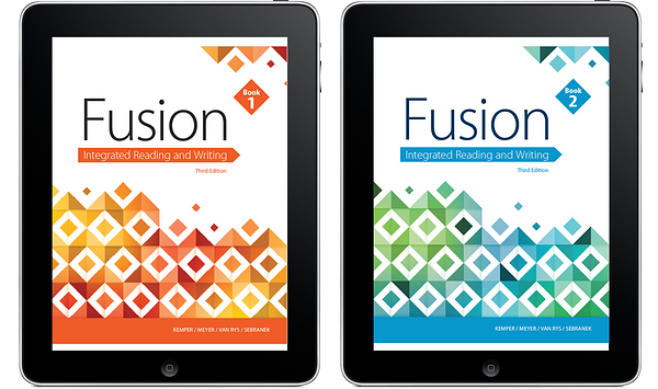 Fusion: Integrated Reading and Writing, Books 1 & 2, 3e