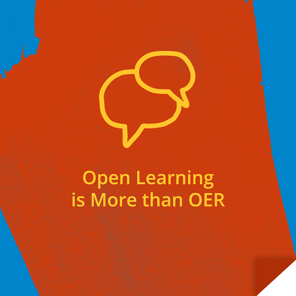 Open Learning is More than OER