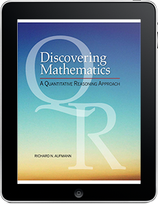 Discovering Mathematics: A Quantitative Reasoning Approach, 1e WebAssign Course with Corequisite Support