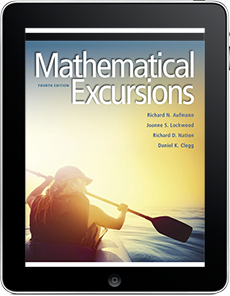 Mathematical Excursions, 4e WebAssign Course with Corequisite Support