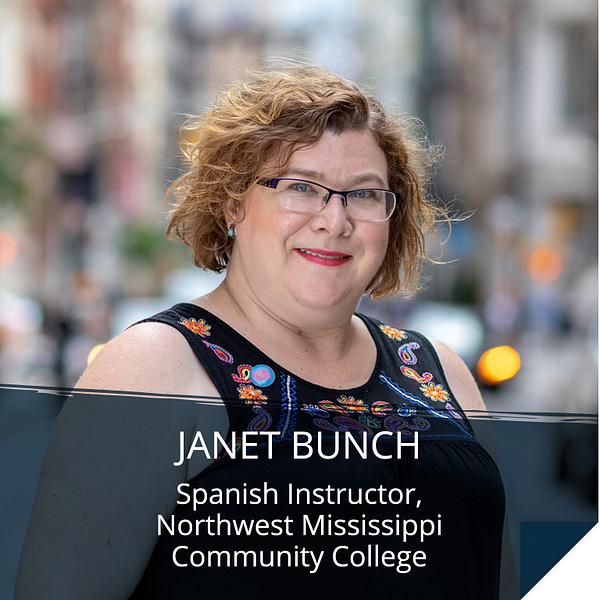 Janet Bunch, Spanish Instructor, Northwest Mississippi Community College