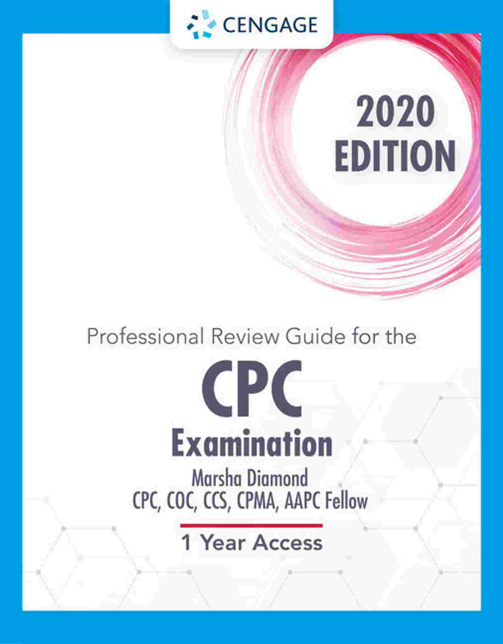 Professional Review Guide Online for the CPC Examination, 2020, 2 terms (12 months) Instant Access