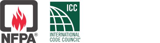 NFPA (NEC), ICC logos