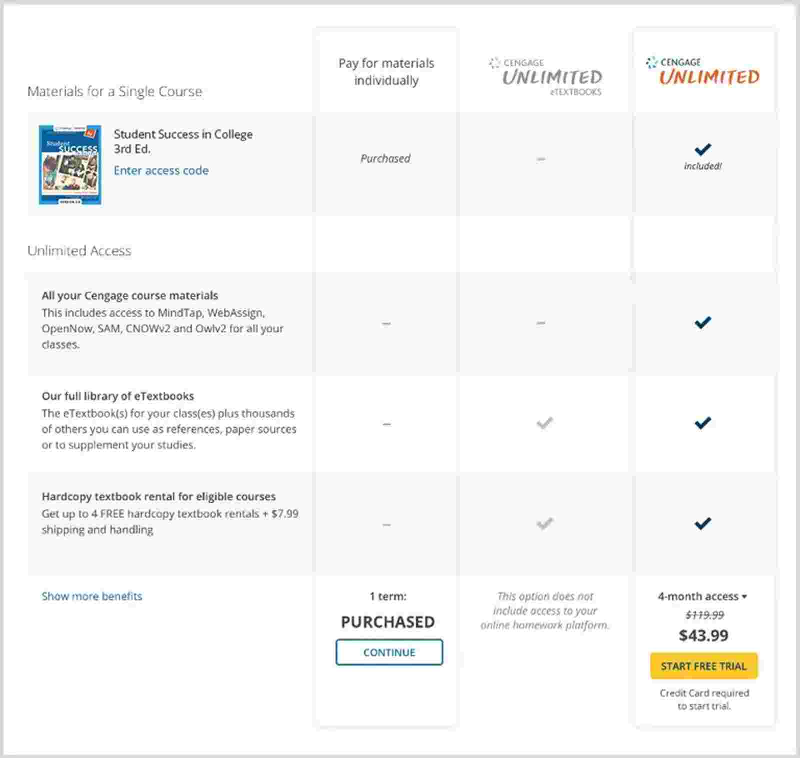 SSO LMS IA payment screen