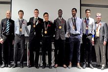 Men's Cross Country team wins bronze at championship Image