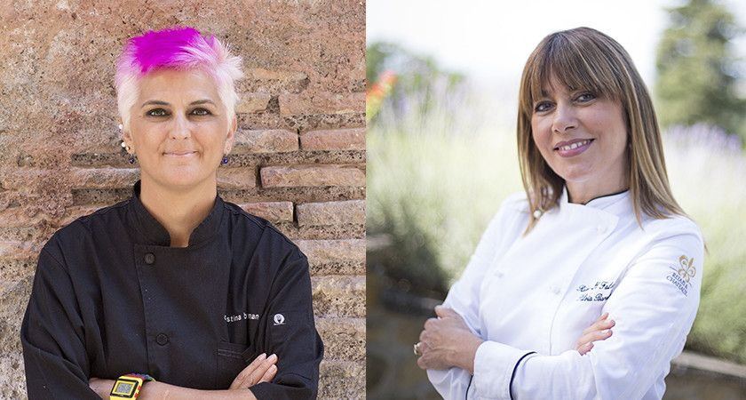 Michelin Chefs Cristina Bowerman and Sylvia Baracchi