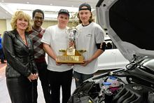 High school students win big at Autoshow Image