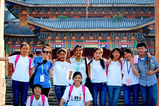 picture of Centennial College Global Experience group in China