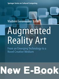 New book cover: Augmented reality art