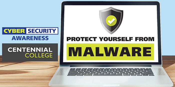 Poster of malware for Cyber Security Awareness Month