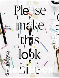 book: Please make this look nice: the graphic design process