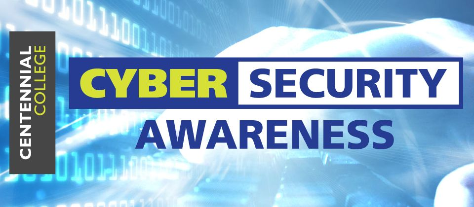 Poster of Cyber Security Awareness Month