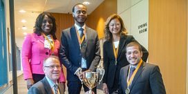 Financial Planning Students Win Gold at the Eastern Regional Financial Planning Case Challenge Image