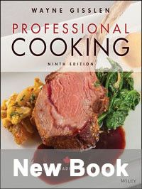 New book cover: Professional Cooking for Canadian Chefs