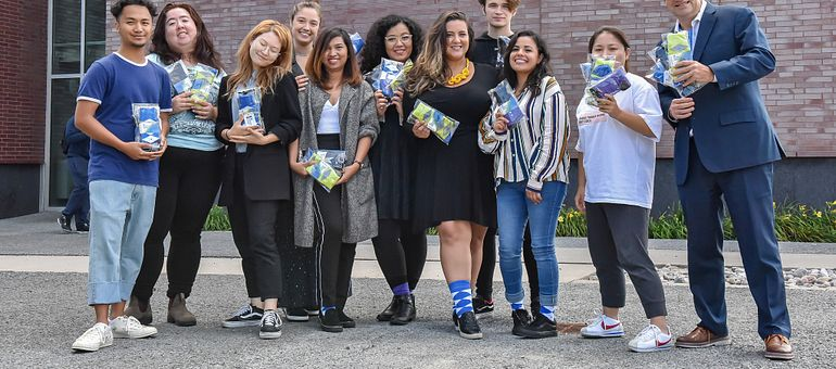 In their own words: Fashion Business students on the Business Socks Project Image