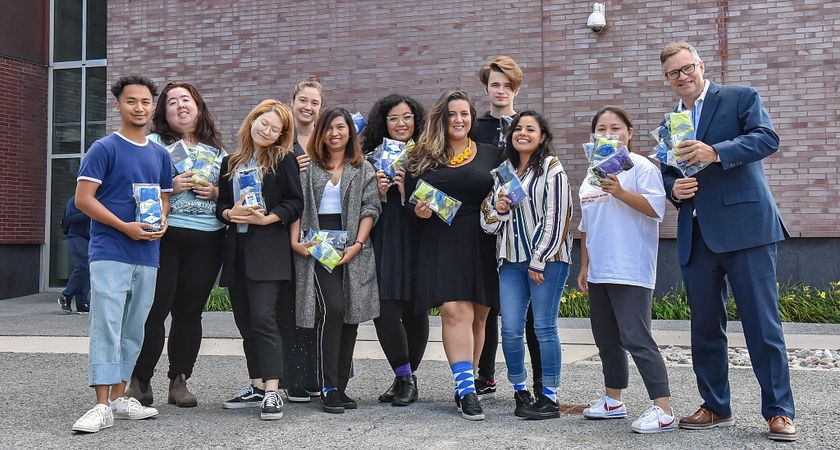 In their own words: Fashion Business students on the Business Socks Project