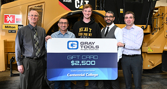 Heavy Duty student wins Gray Tools competition Image