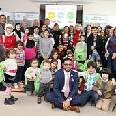 picture of the Centennial College School of Advancement Holiday Drive event for Syrian Refugee Children