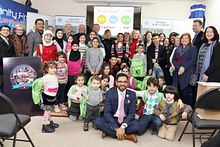School of Advancement Holiday Drive:  Children of Syrian Refugees Image