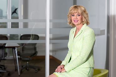 Picture of Centennial College President and CEO, Ann Buller.