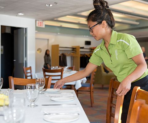 Centennial College fall 2015 Hospitality student