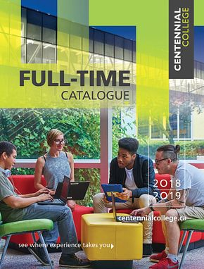 Centennial College Full-time Calendar 2018-2019